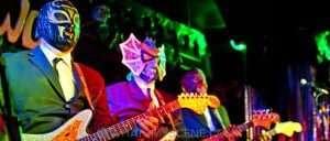 Gig Scene: Los Straitjackets with Big Sandy & George Kamikawa, The LuWOW 12th March 2015