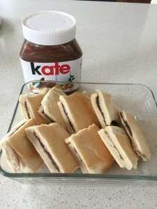 Recipe Scene: Chocolaty Nutella Bread and Butter Pudding