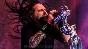 Snap Scene: Download Festival: Korn, Good Charlotte, King Parrot, Limp Bizkit, Flemington Racecourse - 24th March 2018