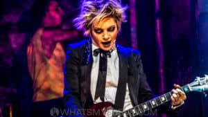 Snap Scene: Sarah McLeod in American Idiot, Comedy Theatre - 7th March 2018