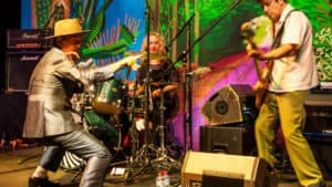 Snap Scene: Dave Graney & the Coral Snakes, National Gallery of Victoria - 3rd March 2017