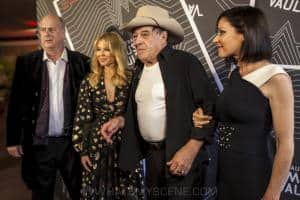 Michael Gudinski, Kylie Minogue, Molly Meldrum & Tina Arena