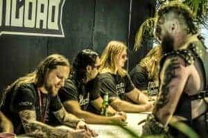 Amon Amarth signing