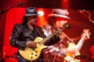Santana - Rod Laver Arena - 11th April 2017
