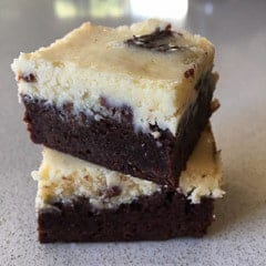 Chocolate Cheese Cake Brownies