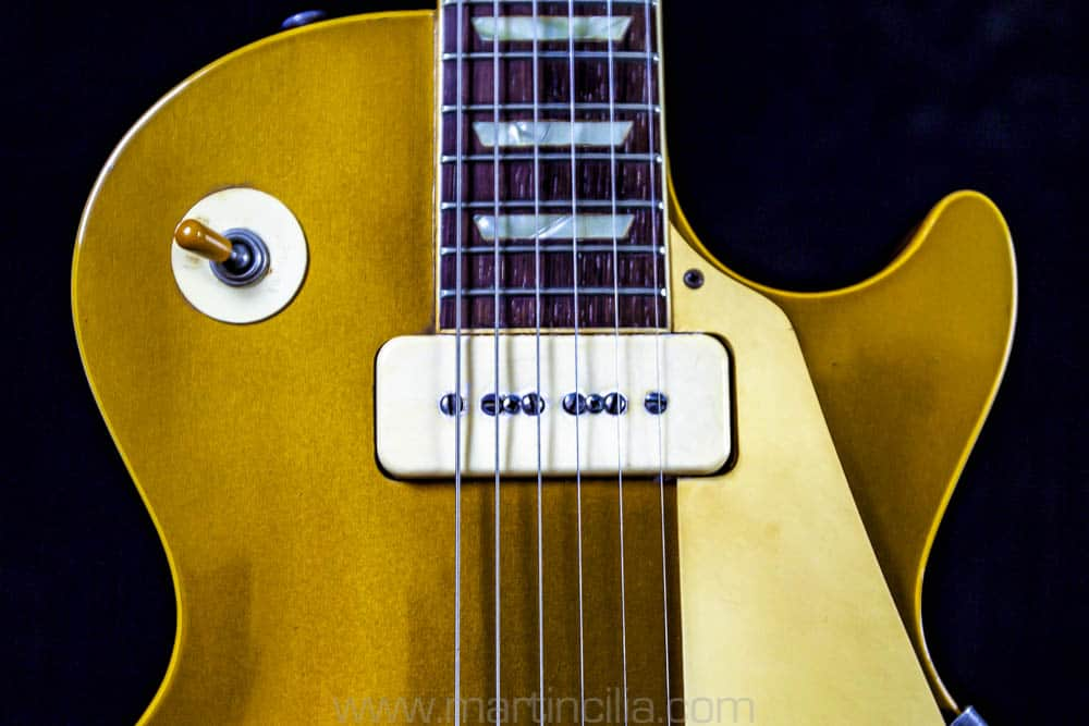 Vintage Guitar Scene: 1954 Gibson Les Paul Gold Top