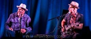 Snap Scene: Phil Wiggins & Dom Turner - Caravan Music Club, 27th March 2015