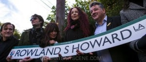 Snap Scene: The Opening of Rowland S Howard Lane, St Kilda - 4th June 2015