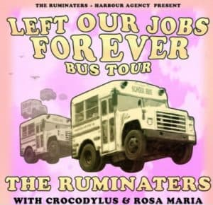 Scene News: GROUPLOVE exit the bus, and The Ruminaters continue their 'Boys Off Work' tour