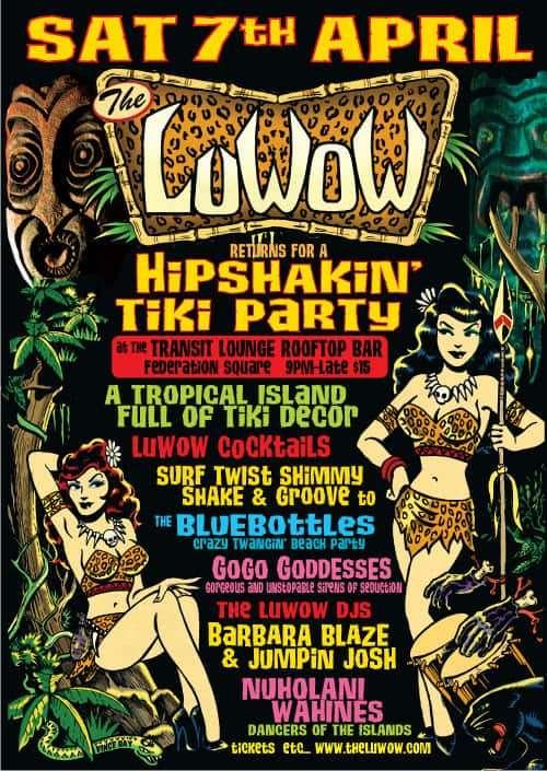 Scene News: The LuWOW Returns! A Hipshaking Tiki Party