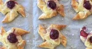 Recipe Scene: Cherry Danishes