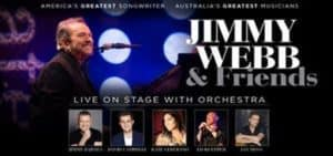 Scene News:  JIMMY WEBB is back ~ this time with friends and an orchestra!