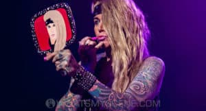 Snap Scene: Steel Panther - The Forum, Melbourne, 16th May 2018