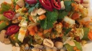 Recipe Scene: Asian Coleslaw