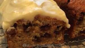Recipe Scene: Chocolate Chip Banana Cake