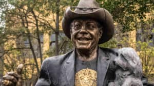 Snap Scene: Molly Meldrum Statue unveiling, Wangaratta Street Park, Richmond. 25th September 2018