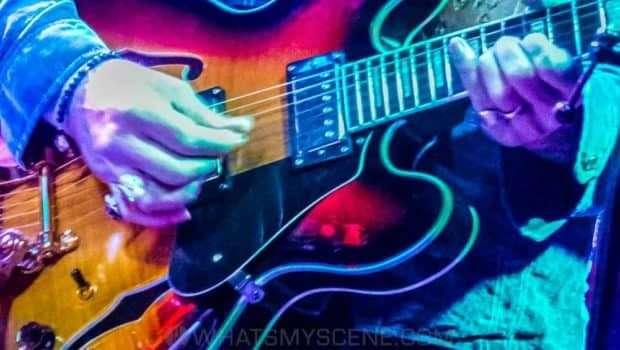 Snap Scene: Opelousas Band (Kerri Simpson) Heinous Hound Blues Band (Steve Lucas) - Cherry Bar - Sunday 23rd September 2018