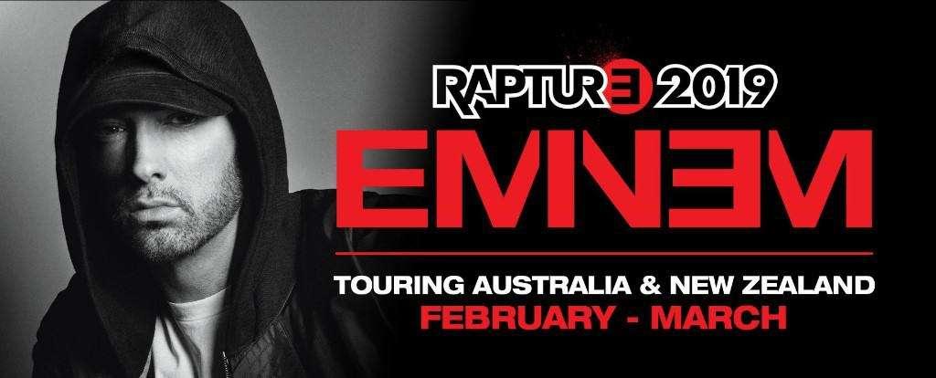 Scene News: EMINEM brings his RAPTURE Tour to Australia next year!
