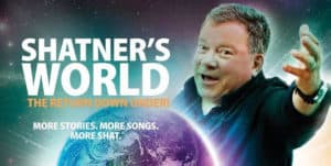 Review Scene: William Shatner - Shatner's World. Hamer Hall. Thursday October 11th 2018