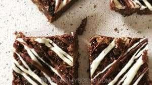 Recipe Scene: Salted Caramel Cream Cheese Swirl Brownies
