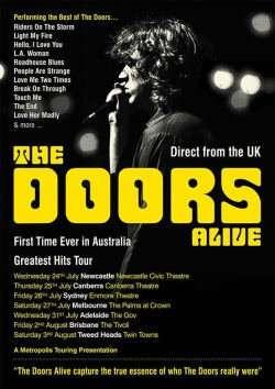 Scene News: The Doors Alive Announce 2019 Australian Tour