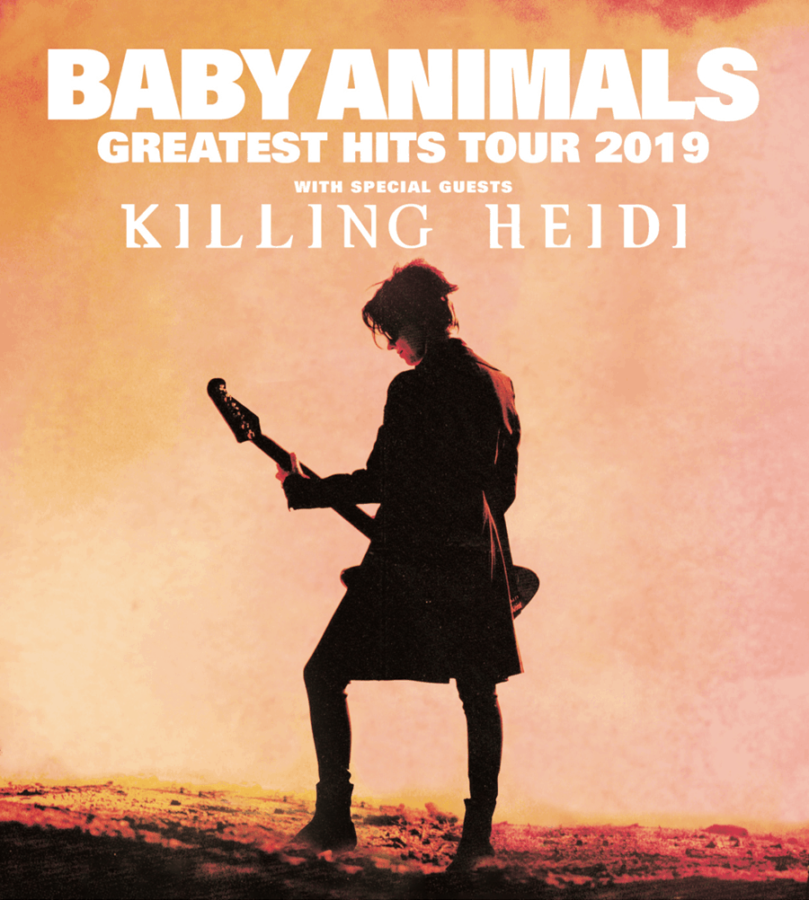 Scene News: Baby Animals Announce 30th Anniversary National Tour with Special Guests Killing Heidi