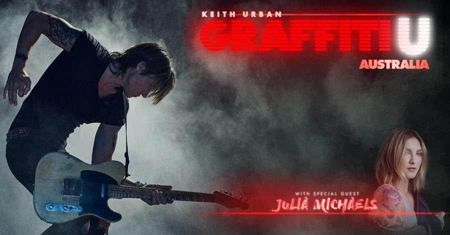 "Scene News: Keith Urban ""Graffiti U World Tour Australia"" Begins"