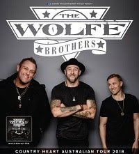 Scene News: The Wolfe Brothers kick off the 2019 run of their rockin' Country Heart National Tour