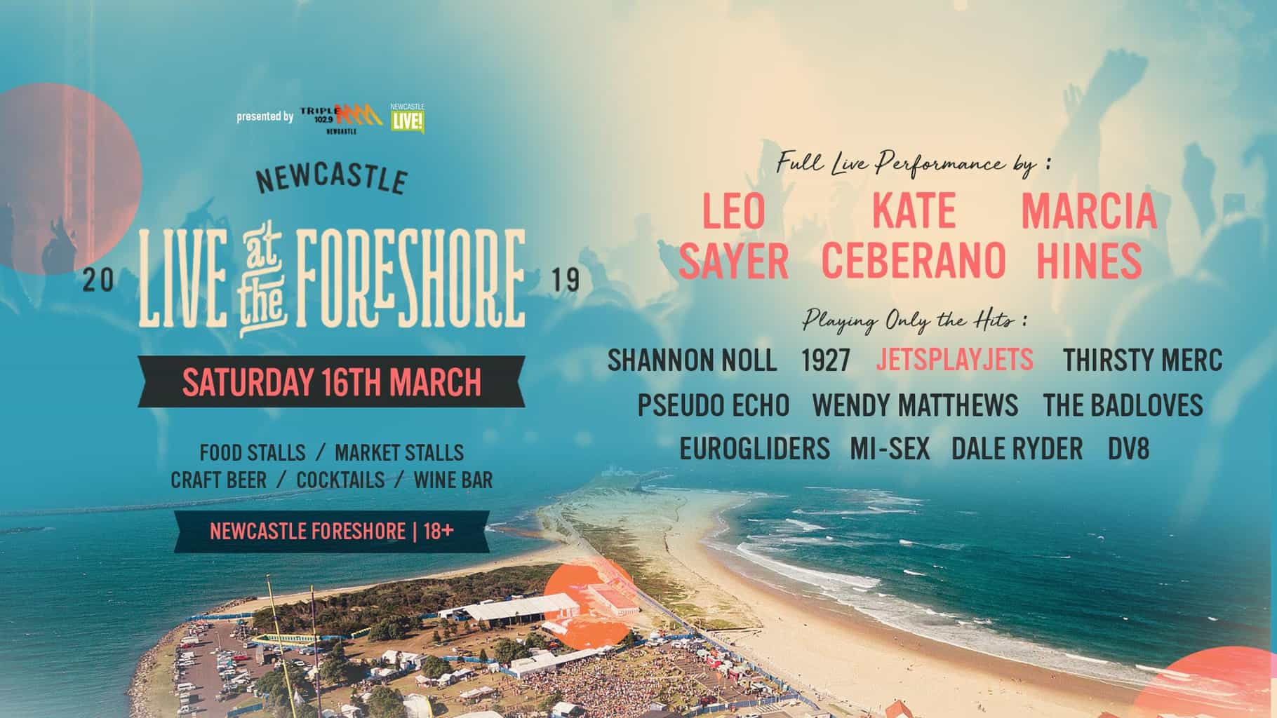 Scene News_ Live At The Foreshore - 30 years of The Screaming Jets
