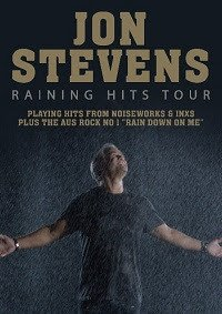 Scene News: Jon Stevens kicks off 2019 with a massive Raining Hits tour playing hits from Noiseworks & INXS