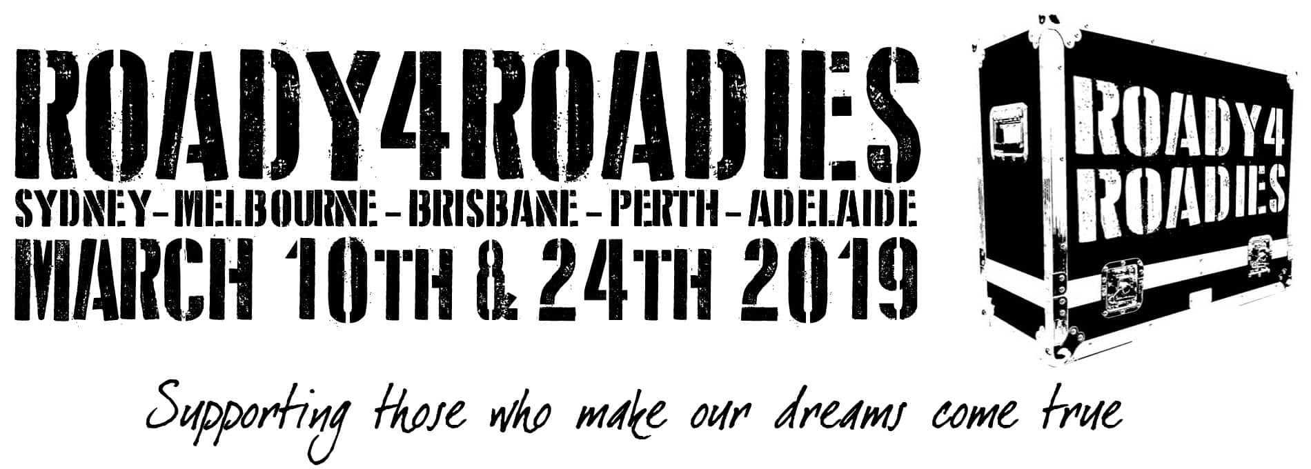 Scene News: Roady4Roadies venues and artists confirmed!