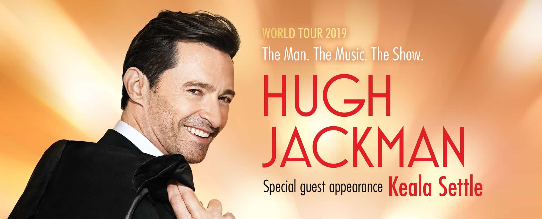 Scene News: Hugh Jackman's The Man. The Music. The Show. Australian Shows Announced.