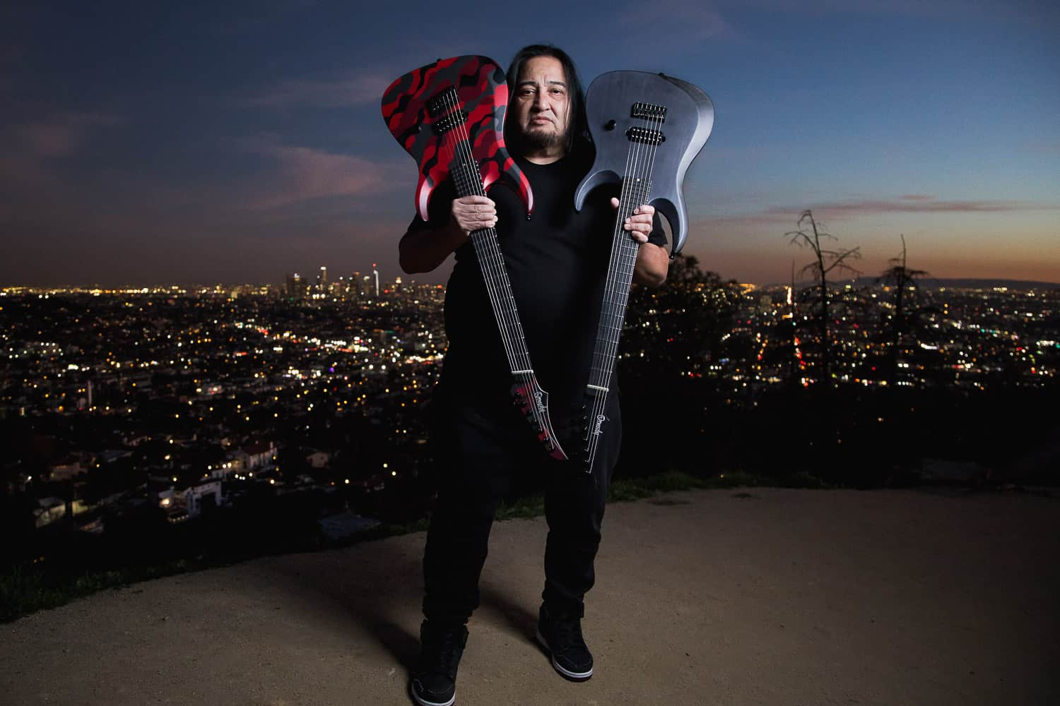 Scene News: Perth's ORMSBY GUITARS Welcomes Metal Icon DINO CAZARES