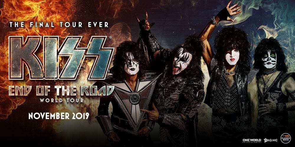 Scene News: Kiss Kicks Off 'End Of The Road' World Tour