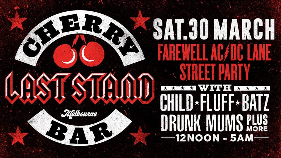 Scene News: Cherry Bar parties through the night as it says goodbye to AC/DC Lane