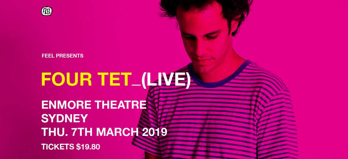 Scene News: Four Tet sells out Enmore show in record time!