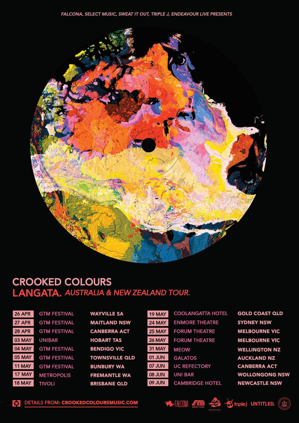 Scene News: Electronic masters CROOKED COLOURS announce new single, new album, national and international tour!
