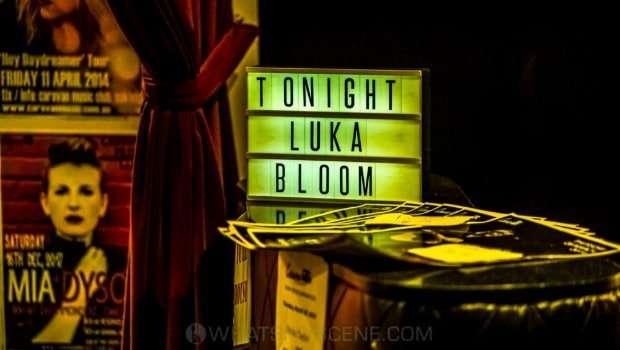 Snap Scene: Luka Bloom, Caravan Music Club 29th March 2019