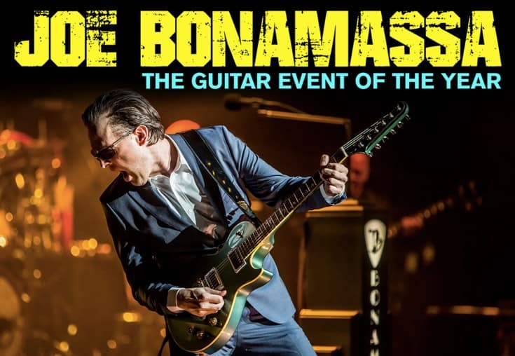 Scene News: Joe Bonamassa announces East Coast tour!