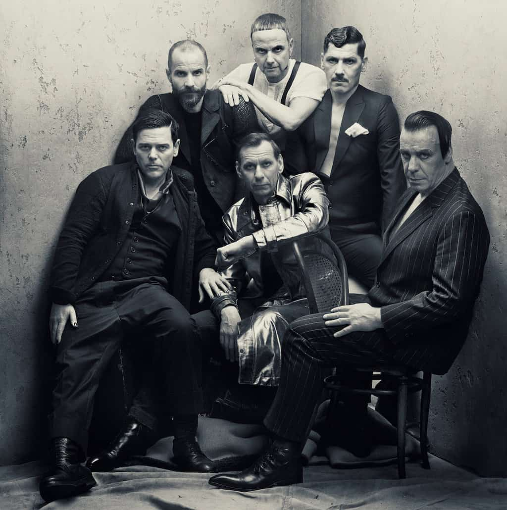 Scene News: Rammstein: New Single & Video For Radio Official Album Cover Art