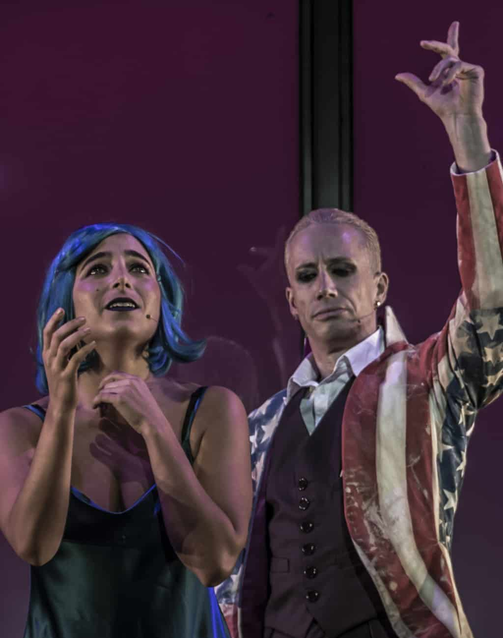 Review Scene: David Bowie's musical odyssey LAZARUS opens in Melbourne