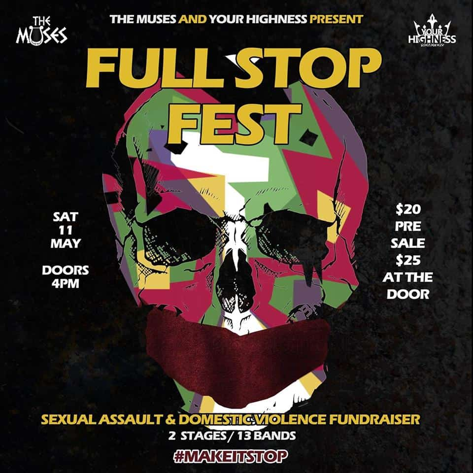 Scene News: Full Stop Fest - Sat, May 11. Stopping Sexual Assault & Domestic Violence, Full Stop