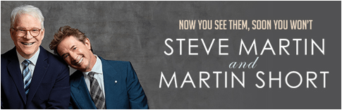 Scene News: Now You See Them, Soon You Wont - Steve Martin And Martin Short Australian Tour In November
