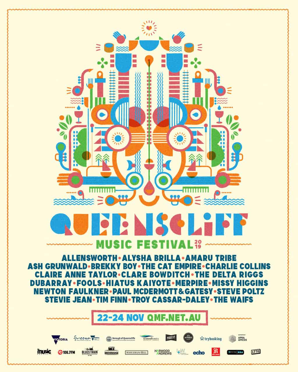 Scene News: Queenscliff Music Festival 2019 first lineup announcement