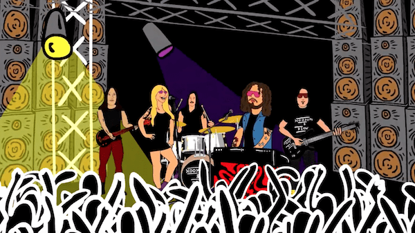 Scene News: Dizzy Reed and the case of the...Forgotten Cases animated music video