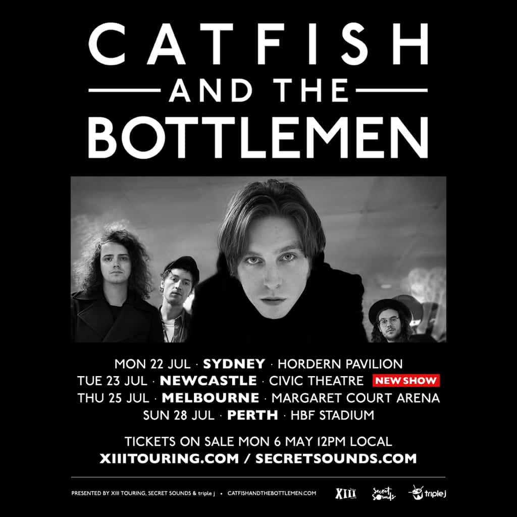 Scene News: Catfish and the Bottlemen announce new show due to popular demand