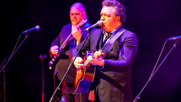 Snap Scene: Daniel Thompson's Johnny Cash Show, Horsham Town Hall 3rd August 2019