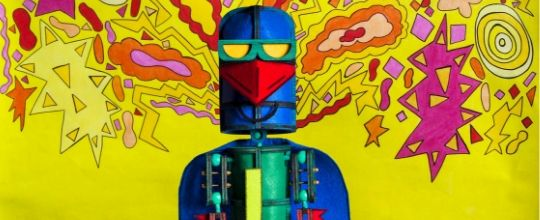 Scene News: Laser Beak Man at Arts Centre Melbourne,  September 2019
