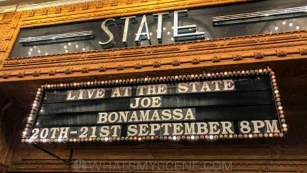 Flashback Snap Scene: Joe Bonamassa, State Theatre Sydney 20th September 2019