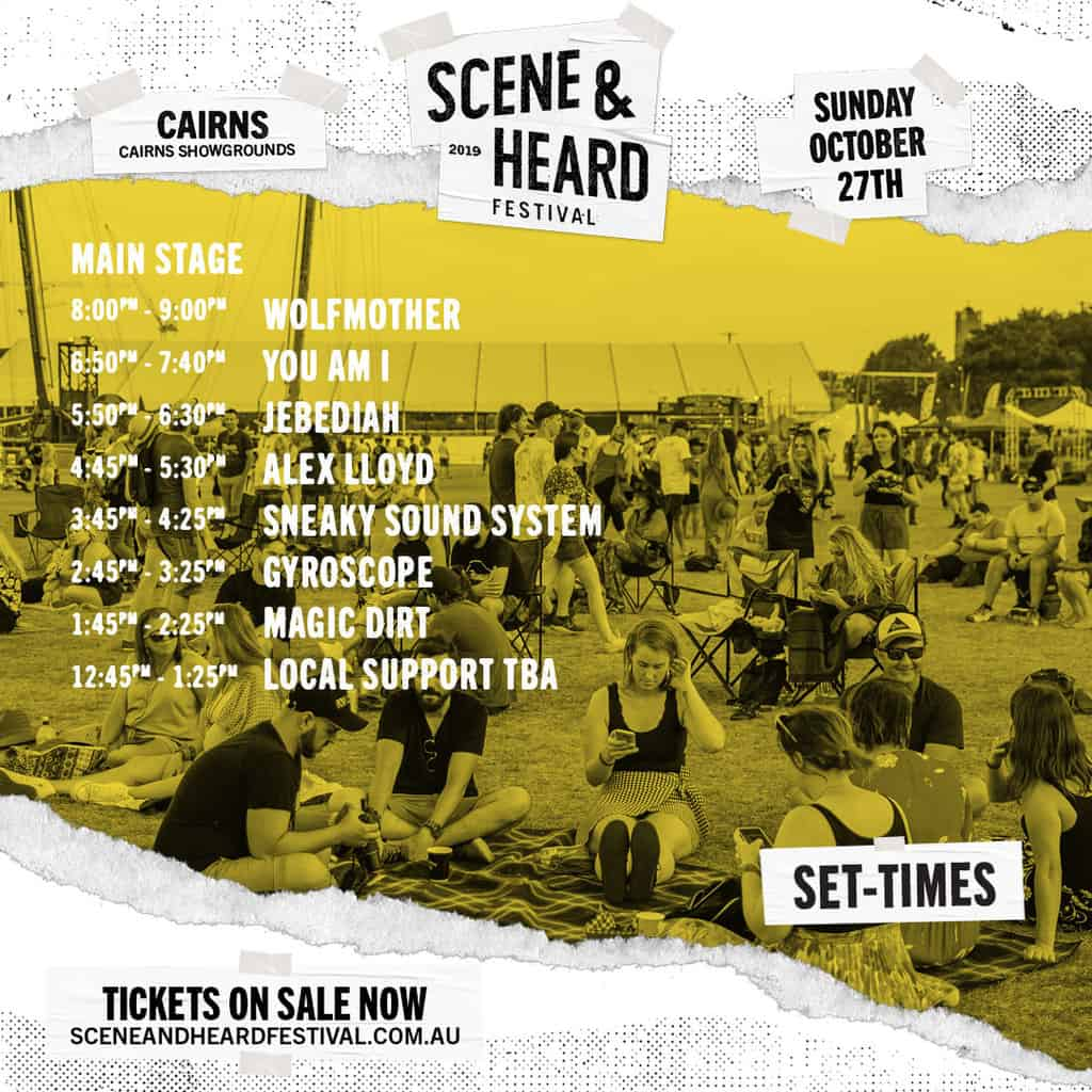 Scene News: SCENE & HEARD Festival Set Times Announced